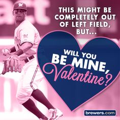 #Brewers #Valentine #ValentinesDay #KhrisDavis