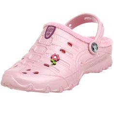finest selection 75920 30f4a Skechers Little Kid Big Kid Girls Calies Darling Slip On Clogs Shoes Flower