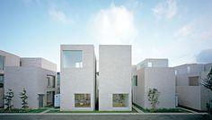 | SANAA KAZUYO SEJIMA + RYUE NISHIZAWA |  SEIJO TOWN HOUSES  | Tokio | Japan |