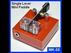 MK-33 Mini CW Paddle : Electronics USA Ham Radio Products!