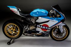 MARTINI design very much. It sure fits the Ducati 1199 Panigale!