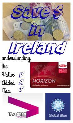 Ireland vacation tip: Understanding the VAT | save money in Ireland | Ireland travel tips