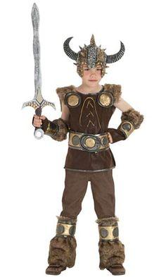 Viking Boy Kids Costume - Halloween Costumes