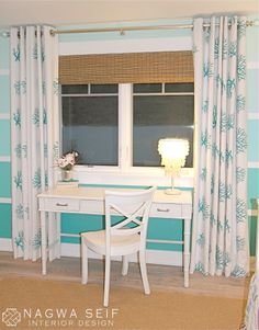 NSID: Mermaid Bedroom so Serene could be larger & our art table(: #17BestRoomEver