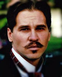 Val Kilmer as Doc Holliday in Tombstone. So good lookin