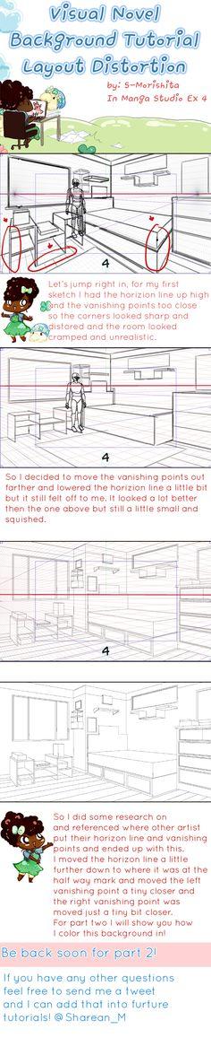 Visual Novel Background Tutorial Part 1 by SKY-Morishita