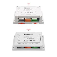 SONOFF® 4CH R2 4 Channel 10A 2200W 2.4Ghz Smart Home WIFI Wireless Switch APP Remote Control AC 90V-250V 50/60Hz Din Rail Mounting Home Automation Module Sale - Banggood.com App Remote, Smart Home Security, Wireless Security, 4 Channel, Photography Camera, Home Automation, Arduino, Consumer Electronics, Wifi