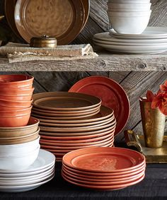 Country Dinnerware Collection I Need to incorporate these colors into my kitchen #LG Limitless Design #Contest