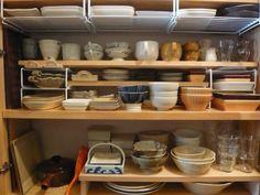 食器棚の収納
