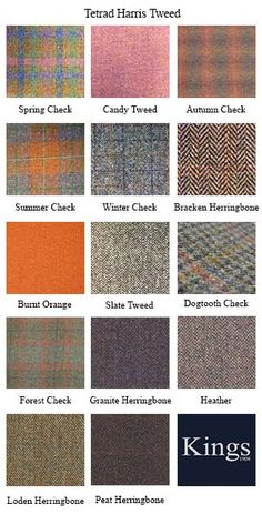 Tetrad Harris Tweed Bowmore Grand Sofa 3 Just ordered our sofa in Summer Check ☺ Textile Pattern Design, Textile Patterns, Tweed Wedding, Fashion Terminology, Tweed Run, Style Masculin, Fashion Dictionary, Fashion Vocabulary, Tartan Plaid
