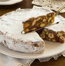 Food Photography: Panforte al cacao Fruit Recipes, Desert Recipes, Sweet Recipes, Low Calorie Cake, Easy Sweets, Greek Desserts, Cakes Today, Sandwich Cake, Christmas Desserts