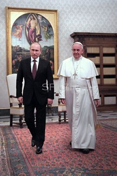Francis & Vladimir.