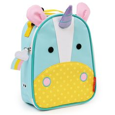 Skip Hop Unicorn Lunch bag for preschoolers: Win.