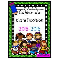 Cahier de planification Kids 2015-2016 (5 pé.)