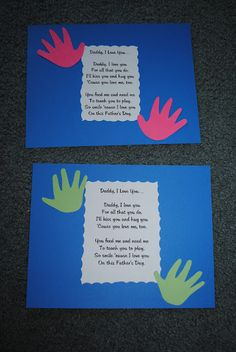 Father's Day craft You --- me and teach me how to love Jesus and pray