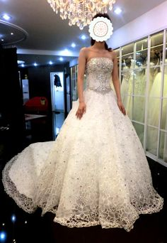 Ruby - Bridal Dress Wedding Gown Marriage Matrimony Wedlock $730 via @Shopseen