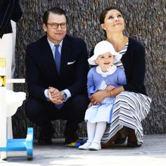 Princess Victoria, Prince Daniel and their daughter