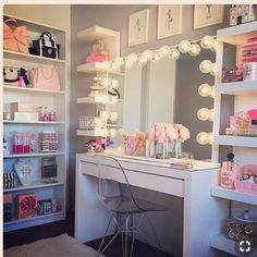 VANITY LIFE **Morning Beauty Room Inspiration** Totally crushin on this vanity! This might be one of my favorites. I like how it's tucked into the corner of the room so it has that cozy effect  - @glam.vanity  Check out her page and show her some love and likes !! #pinkroxybeauty #vanitylife #vanitygoals #makeuplife #makeupgoals #beauty #beautyroom #cosmetics #beautyblogger #makeup #makeupart #makeupporn #makeupjunkie #makeupjunkies #makeupaddiction #makeupaddict #makeupobsessed #ma...