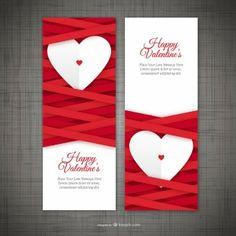 День баннеры Валентина