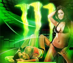Pictures of hot girls that sponsor monster energy