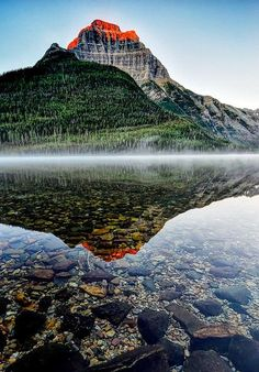 Kinnerly Peak, Glacier National Park - Montana