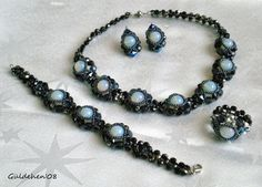 Güldehen's Creations: Aytaşlı Set / Jewelry Set with Moonstone