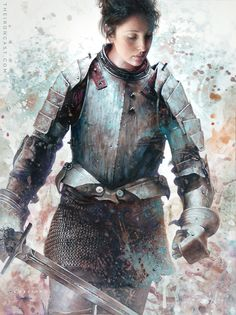 """""""Unsung Hero by Chris CascianoDo you love the rough, painterly metal aesthetic, and illustrations of people in armor? Well, then do I have the art series for you!This definitely looks like a realistic armor, which means that while it may not be."""