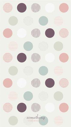 iPhone wallpaper design •spring circle•