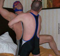 sonny boy bearhugging daddy motel room photos