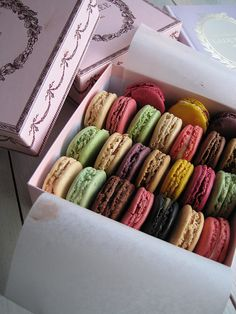 laduree macarons: I'm going to try these in every flavor possible this summer :)