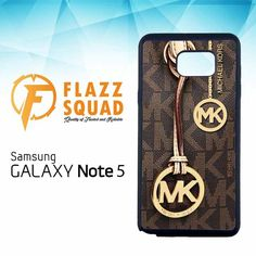 Michael Kors Brown X4230 Samsung Galaxy Note 5 Case