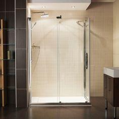 The captivating Desire Sliding Doors offer a real minimalist statement for the modern bathroom. Bath Screens, Modern Bathroom Design, Luxury Shower Enclosures, Bathroom Layout, Frameless Sliding Doors, Shower Doors, Door Design Modern, Bathroom Design, Black Bathroom