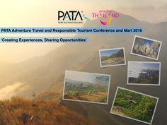 "PATA Chiang Rai theme: ""Creating Experiences, Sharing Opportunities"" :) https://www.facebook.com/thaiguam.thaiairways/photos/a.1406291309698920.1073741827.1406280419700009/1554966321498084/?type=3&theater"