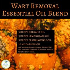 Trying to always hide an ugly wart you wish you didn't have? Try this essential oil blend and STOP hiding!