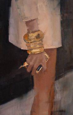 """Bling""; Fanny Nushka Moreaux."