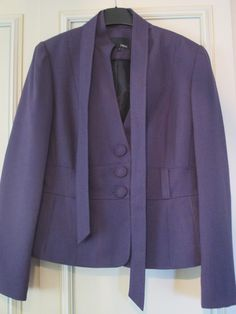 Next Purple Jacket