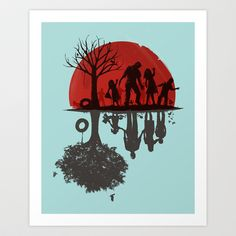 Buy A Family Once by Jay Fleck as a high quality Art Print. Worldwide shipping available at Society6.com. Just one of millions of products available.