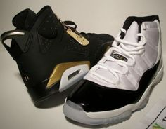 Gold medals package 6s and concord 11s