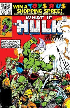 """This is too farfetched. How would that even work? What, would Hulk somehow visit some alien gladiator planet and become some sort of barbarian conqueror in charge of his own world? 