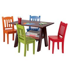 $159.99 Wood Table/4 Chairs from Costco.ca- it\'s extremely important ...