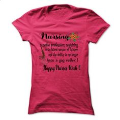 Happy nurse week! - #disney shirt #tshirt bemalen. ORDER NOW => https://www.sunfrog.com/LifeStyle/Happy-nurse-week-69743959-Guys.html?68278