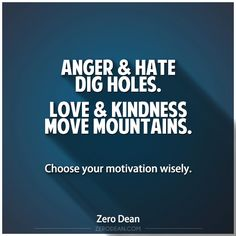 Where does your motivation come from? Often I hear people talk about how their haters drive them toward…