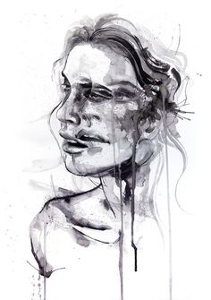 """Tremore by Agnes-cecile ART PRINT / X-LARGE (28"""" X 38"""") $80.00"""