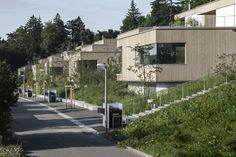 Terrassenvillen zum Landenberg in Winterthur - Peter Kunz Architektur