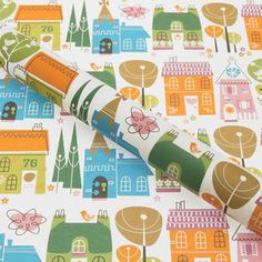 Sussex Village Wrapping Paper
