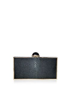 368e5ae16256 Judith Leiber Couture Perfect Rectangle Stingray Clutch Bag