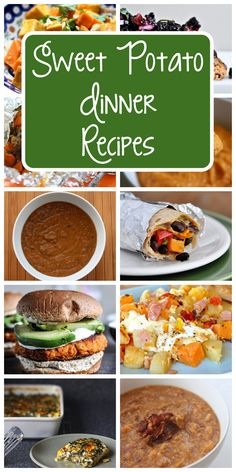 Great dinner recipes using sweet potatoes (so healthy AND cheap!)