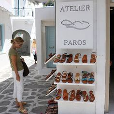 All our sandals are hand-made and all models can be customized and fited according to your desire ❤😊 👉 Feel free to contact us for details / link in the bio 👈   #leathersandals #summer #sandals #summer2017 #madeingreece #realleather #shoes #fashion #greeksandals #handmade #welovegreece #greece #paros #familybusiness #atelierparossandals #turquoise #boho #shopping #handmadesandals #artisanatcuir #artisanat