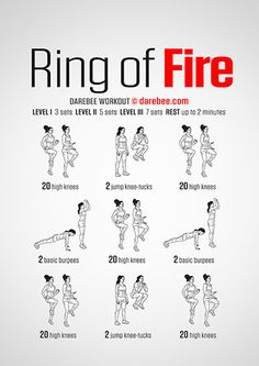 Ring of Fire Workout | Posted by: CustomWeightLossProgram.com