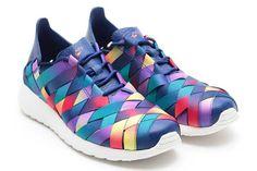 "Nike Roshe Run Woven ""Rainbow"" | KicksOnFire"